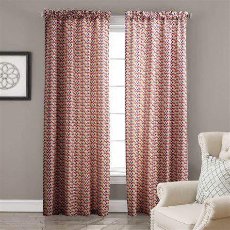 twopages one panel cortinas blackout curtains living room