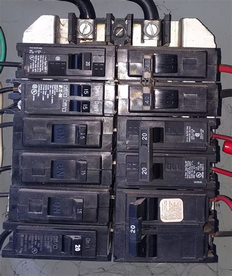 Electrical Panel Where The Tandem Breaker Located