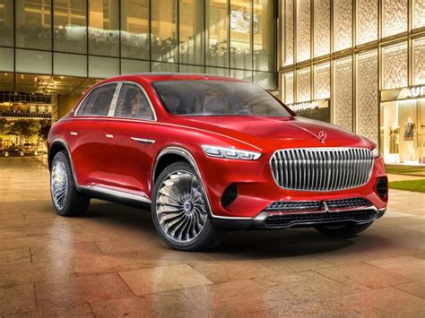 Mercedes Debuts New Maybach Electric Ultra-luxury Suv
