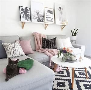 Graue Couch Wohnzimmer : wohnzimmer graue couch m bel pinterest wohnzimmer ~ Michelbontemps.com Haus und Dekorationen
