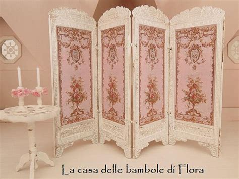 shabby chic room divider marie antoinette french shabby chic room divider screen 1 12