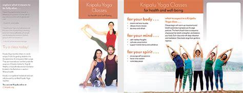 kripalu yoga  ayurveda brochures kripalu