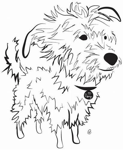 Dog Scruffy Charity Illustrations Raises Dollars Pups