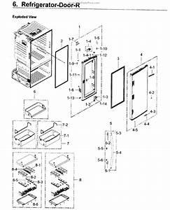 Samsung Da61-09950a Support Door-middle Fdsr