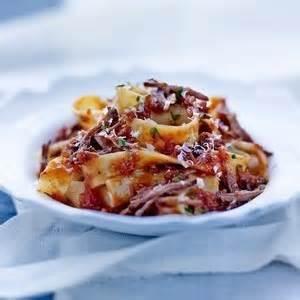 cuisiner la queue de boeuf pappardelle bolognaise 224 la queue de boeuf recette iterroir