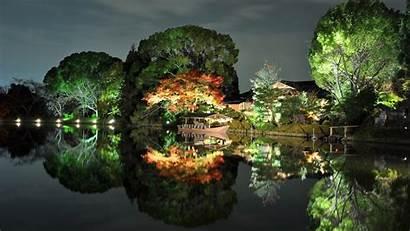 Japan Landscape Evening Wallpapers Desktop Nature Backgrounds