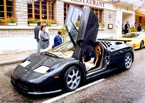 For the fastest acceleration, the fastest series production sports car, the fastest sports car. 1992 Bugatti EB110 - Overview - CarGurus
