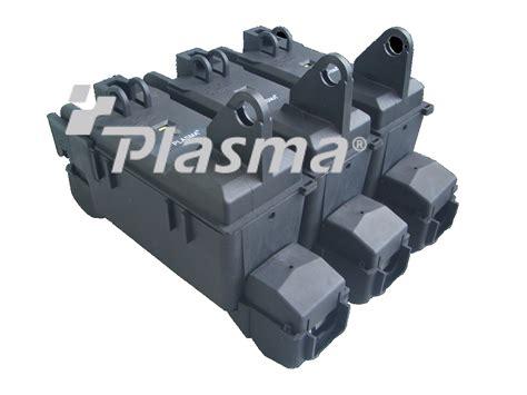 Plasma Electric » 400a Black Fuse Box C/w Neon Light