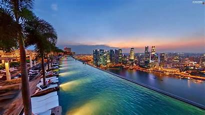 Marina Singapore Bay Hotel Roof Panorama Pool