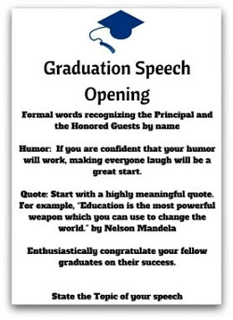 brilliant high school graduation speeches