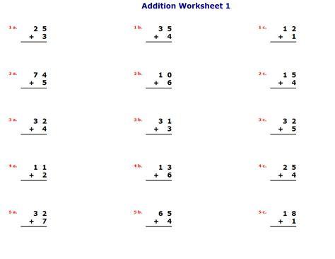 Easy Math Worksheets Chapter #1 Worksheet Mogenk Paper Works