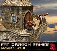 Dungeons and Dragons Wizard Tower