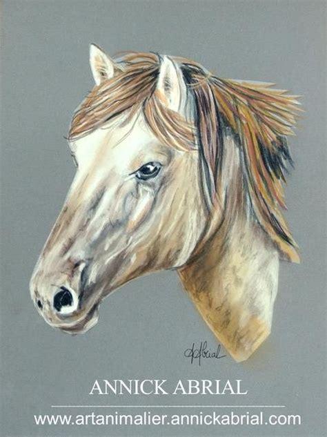 peintures portraits chevaux aux pastels secs peintre