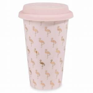 Tasse à Café Maison Du Monde : mug de voyage en porcelaine motifs flamants roses flamingo maisons du monde ~ Teatrodelosmanantiales.com Idées de Décoration