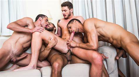 Group Dicks And Four Holes