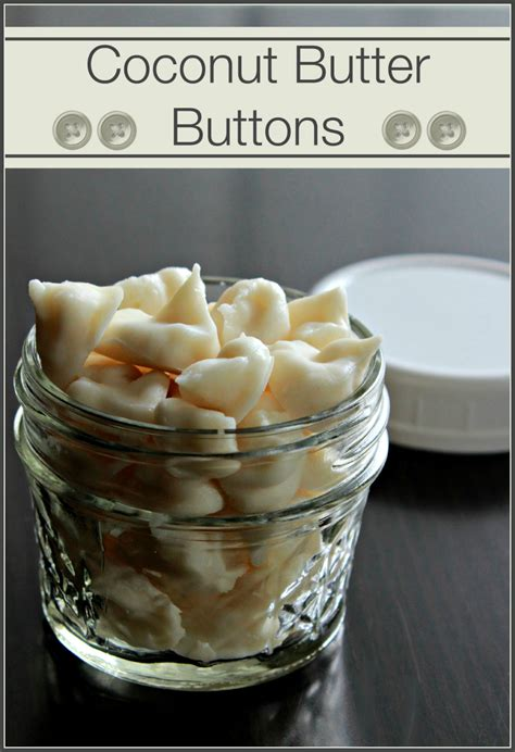 butter buttons coconut butter buttons nw