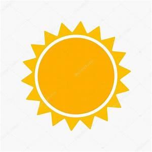 Simple sun icon — Stock Vector © Studiobarcelona #124199590