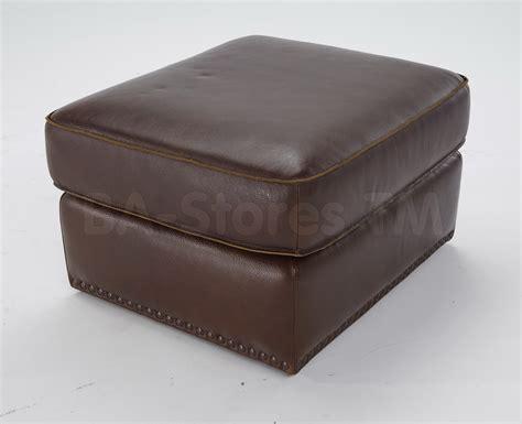 ottomans natuzzi editions transitional leather ottoman