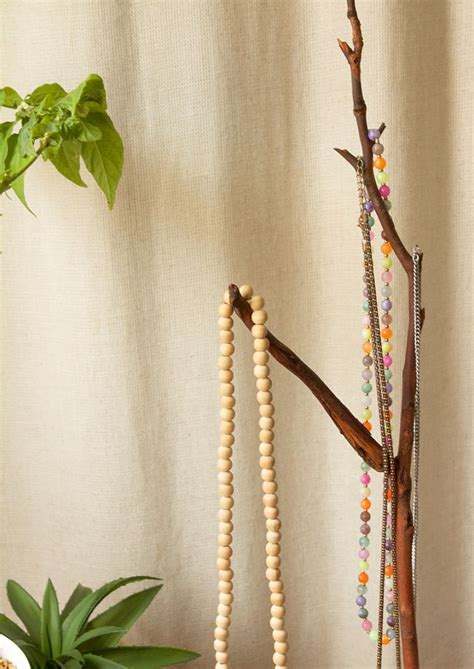 Natural DIY Jewelry Tree Display