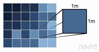 Raster Resolution Spatial Pixel Data Pixels Earth