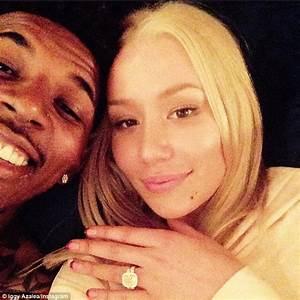 Iggy Azalea engaged to NBA player Nick Young with $500k ...