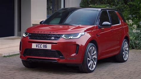 2020 Land Rover Sport by 2020 Land Rover Discovery Sport Unveiled