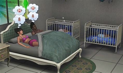 chambre de b b jumeaux barnard se fait vieux et katy a des jumeaux les sims