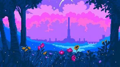 Pixel Cyrodiil Background Wallpapers 4k Artist Resolution
