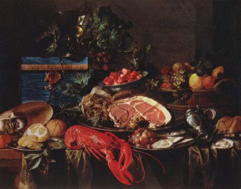 cuisine baroque the greatest food still lifes in history flavorwire