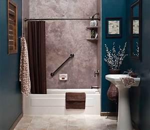 Waschbecken Kleines Badezimmer : kleine badezimmer mit freistehende waschbecken und einbauen badewanne f r gem tlich kleine ~ Sanjose-hotels-ca.com Haus und Dekorationen
