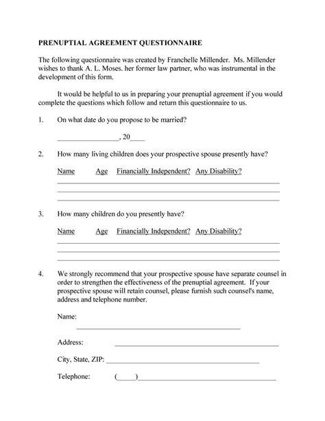 illinois prenuptial agreement form 31 free prenuptial agreement sles forms free