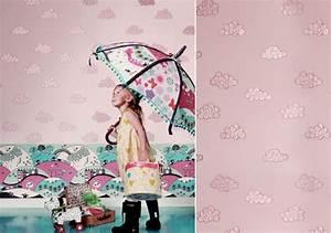 Papier Peint Petite Fille : papier peint chambre petite fille netvani ~ Dailycaller-alerts.com Idées de Décoration