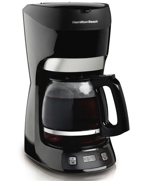 Amazon.com: Hamilton Beach 12 Cup Coffee Maker with Digital Clock (49467): Coffee Makers For