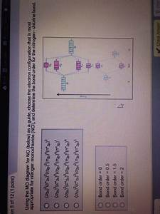 How To Determine Bond Order From Electron Configuration