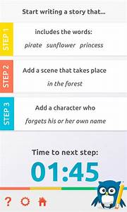 Creative writing app android 2019-04-28 05:33