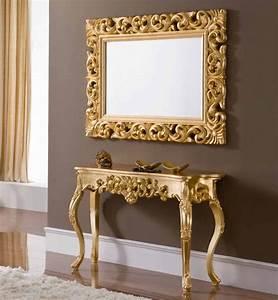 Miroir Baroque Doré : miroir baroque dor id es de d coration int rieure french decor ~ Teatrodelosmanantiales.com Idées de Décoration