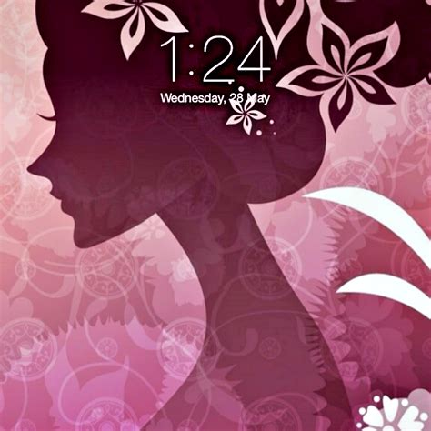 Girly Home Screen Wallpaper Quotes by Girly Designed Home Screen Themes Wallpapers