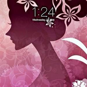 Home Screen Wallpaper for Girls