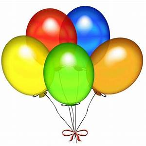 Balloons   Colorful 5 Balloons Bunch  U2013  Add