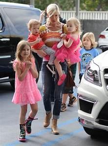 Tori Spelling Takes her Children to Ballet | Celeb Baby ...