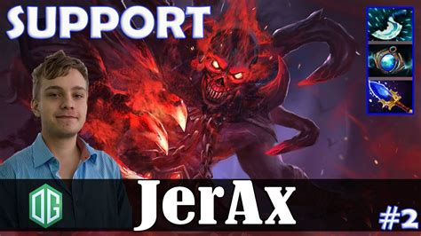 jerax shadow safelane support dota 2 pro mmr gameplay 2 youtube