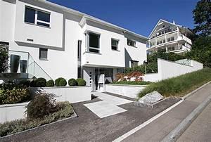 Hauseingang Treppe Modern : hauseingang garagenvorplatz egli gartenbau ag uster ~ Yasmunasinghe.com Haus und Dekorationen