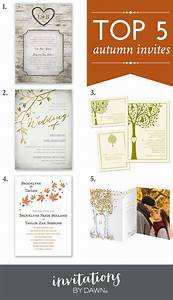 Top 5 autumn wedding invitations for Top 5 online wedding invitations