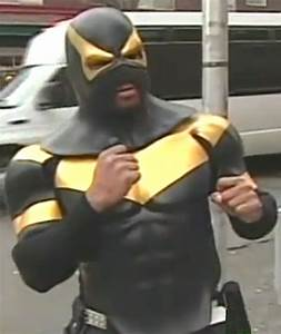 Masked Vigilante in Seattle images