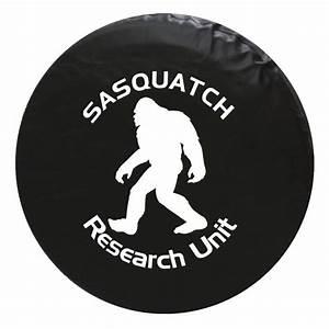 Sasquatch Bigfoot Vinyl Spare Tire Cover