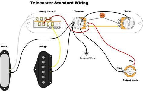 need wiring diagram help neck p90 bridge humbucker telecaster guitar