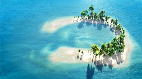 Widescreen Nature Wallpapers High Resolution Very Small Island Maldives Hd Wallpaper Download Wallpapers Pictures Photos