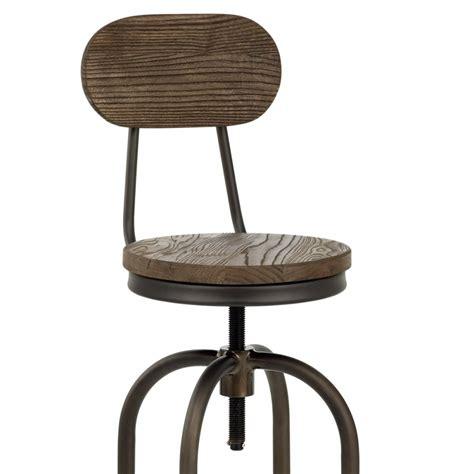 chaise de bar vintage chaise de bar bois vintage swivel monde du tabouret