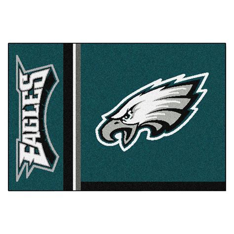 philadelphia eagles rug fanmats nfl philadelphia eagles green inspired 1