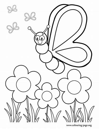 Coloring Garden Flower Pages